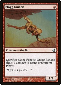 Mogg Fanatic, Magic: The Gathering, Premium Deck Series: Fire and Lightning
