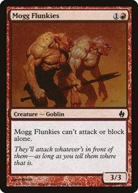 Mogg Flunkies, Magic: The Gathering, Premium Deck Series: Fire and Lightning