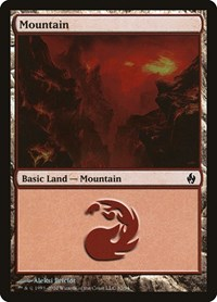 Mountain (32), Magic: The Gathering, Premium Deck Series: Fire and Lightning