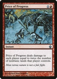 Price of Progress, Magic: The Gathering, Premium Deck Series: Fire and Lightning