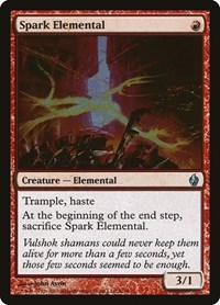 Spark Elemental, Magic: The Gathering, Premium Deck Series: Fire and Lightning