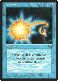 Force Spike, Magic: The Gathering, Legends