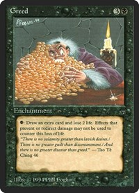 Greed, Magic: The Gathering, Legends