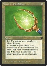 Green Mana Battery, Magic: The Gathering, Legends
