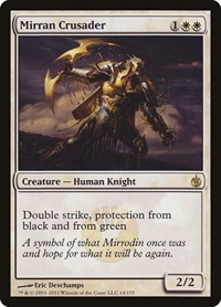Mirran Crusader, Magic: The Gathering, Mirrodin Besieged