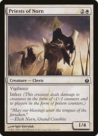 Priests of Norn, Magic: The Gathering, Mirrodin Besieged