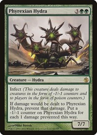 Phyrexian Hydra, Magic, Mirrodin Besieged