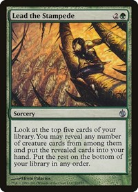 Lead the Stampede, Magic: The Gathering, Mirrodin Besieged