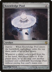 Knowledge Pool, Magic, Mirrodin Besieged