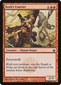 Koth's Courier, Magic: The Gathering, Mirrodin Besieged