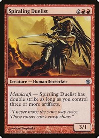 Spiraling Duelist, Magic, Mirrodin Besieged