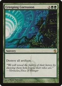 Creeping Corrosion, Magic: The Gathering, Mirrodin Besieged