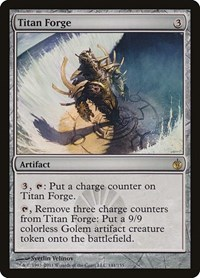 Titan Forge, Magic: The Gathering, Mirrodin Besieged