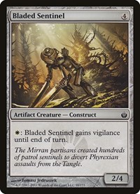 Bladed Sentinel, Magic, Mirrodin Besieged