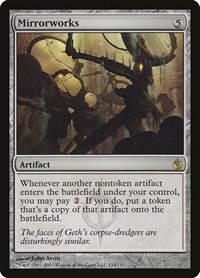 Mirrorworks, Magic: The Gathering, Mirrodin Besieged