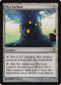 Myr Turbine, Magic, Mirrodin Besieged