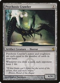 Psychosis Crawler, Magic: The Gathering, Mirrodin Besieged