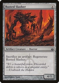 Rusted Slasher, Magic, Mirrodin Besieged