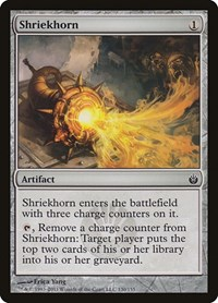 Shriekhorn, Magic: The Gathering, Mirrodin Besieged