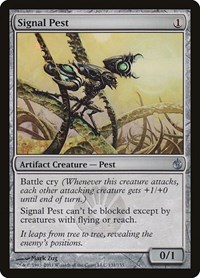 Signal Pest, Magic: The Gathering, Mirrodin Besieged