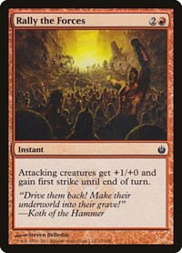 Rally the Forces, Magic: The Gathering, Mirrodin Besieged