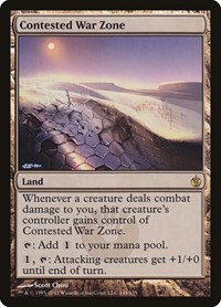 Contested War Zone, Magic: The Gathering, Mirrodin Besieged