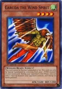 Garuda the Wind Spirit, YuGiOh, Structure Deck: Dragunity Legion