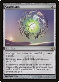 Caged Sun, Magic: The Gathering, New Phyrexia