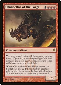 Chancellor of the Forge, Magic: The Gathering, New Phyrexia