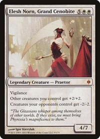 Elesh Norn, Grand Cenobite, Magic, New Phyrexia