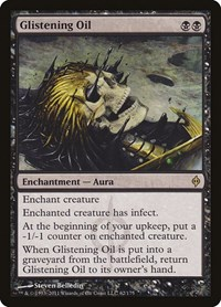 Glistening Oil, Magic: The Gathering, New Phyrexia