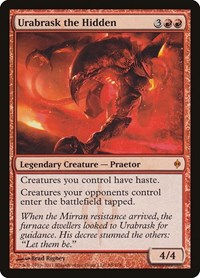 Urabrask the Hidden, Magic: The Gathering, New Phyrexia
