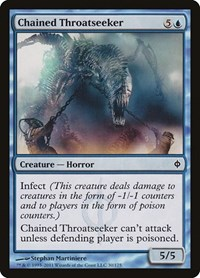 Chained Throatseeker, Magic: The Gathering, New Phyrexia