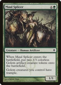 Maul Splicer, Magic: The Gathering, New Phyrexia