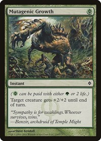 Mutagenic Growth, Magic: The Gathering, New Phyrexia