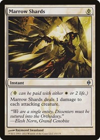 Marrow Shards, Magic: The Gathering, New Phyrexia