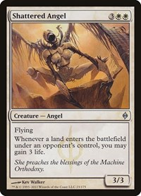 Shattered Angel, Magic: The Gathering, New Phyrexia