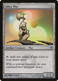 Alloy Myr, Magic: The Gathering, New Phyrexia