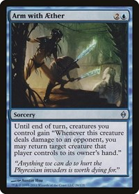 Arm with Aether, Magic: The Gathering, New Phyrexia