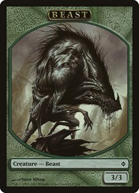 Beast Token, Magic: The Gathering, New Phyrexia
