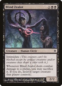 Blind Zealot, Magic: The Gathering, New Phyrexia