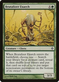 Brutalizer Exarch, Magic, New Phyrexia
