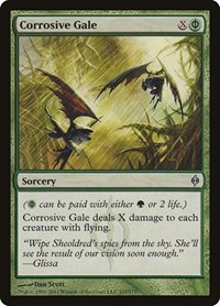 Corrosive Gale, Magic: The Gathering, New Phyrexia