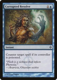 Corrupted Resolve, Magic: The Gathering, New Phyrexia