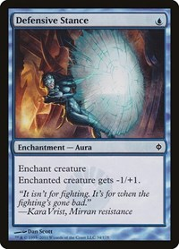 Defensive Stance, Magic: The Gathering, New Phyrexia