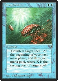 Mana Drain, Magic: The Gathering, Legends