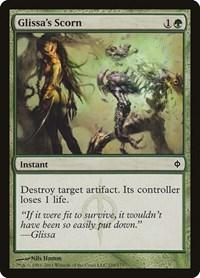 Glissa's Scorn, Magic: The Gathering, New Phyrexia