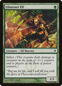Glistener Elf, Magic: The Gathering, New Phyrexia