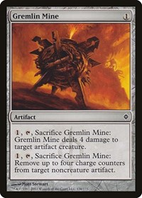 Gremlin Mine, Magic: The Gathering, New Phyrexia