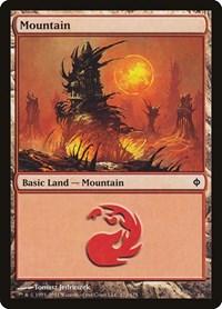 Mountain (172), Magic: The Gathering, New Phyrexia